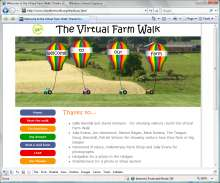 Open the Virtual Farm Walk